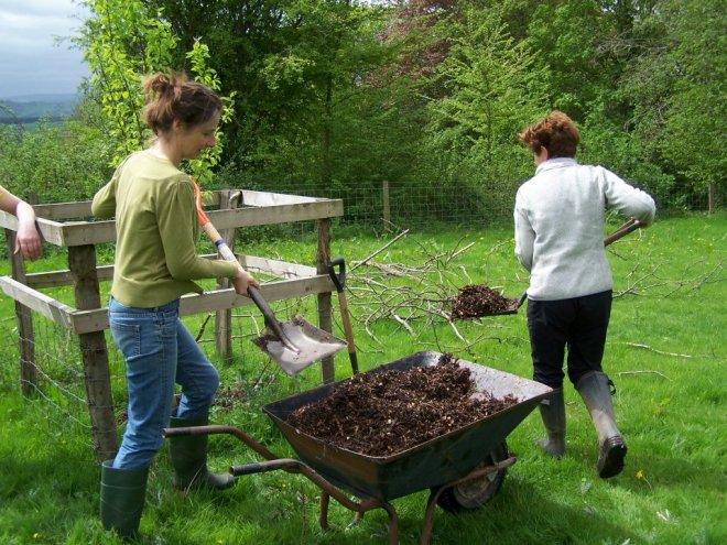 volunteers Davies Meadow